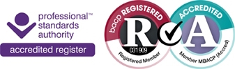 BACP accredited register logo